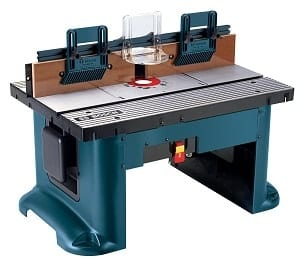 BOSCH RA1181 router table reviews